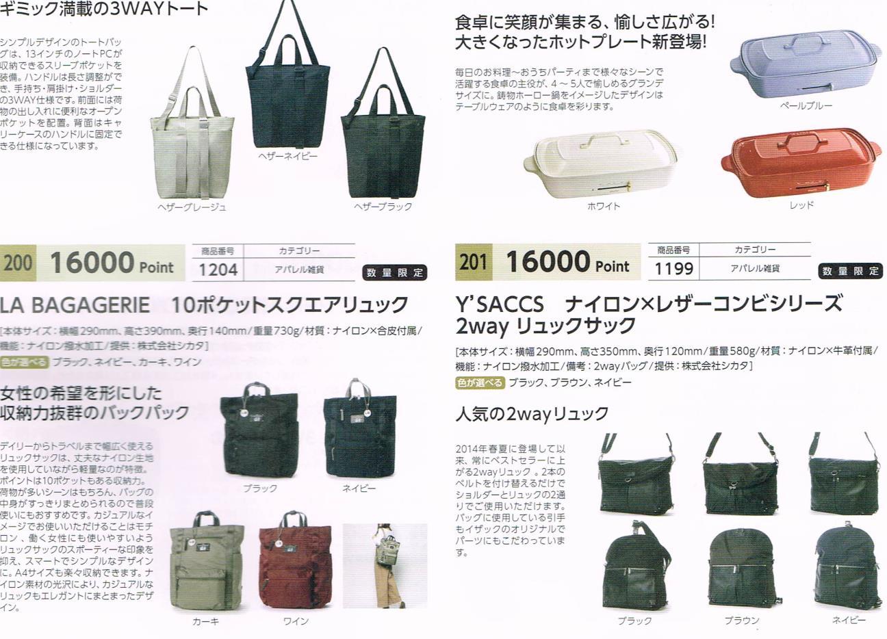 イデアインターナショナル株主優待カタログ