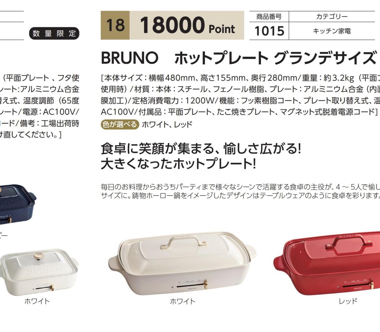BRUNO(旧イデア)より株主優待